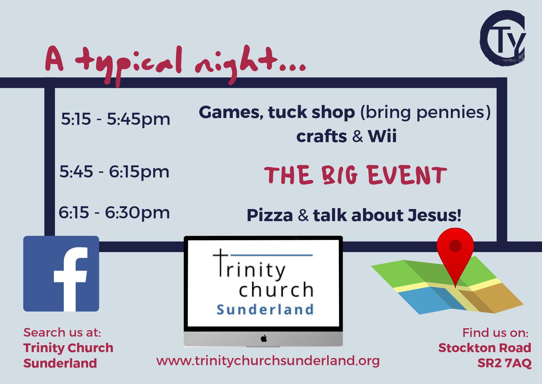 Trinity Youth Club | Trinity Church Sunderland